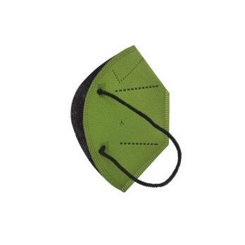 Pack 5 unidades Mascarilla 20 lavados Verde Militar L