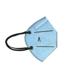 Pack 5 unidades Mascarilla 20 lavados Azul Celeste talla Niños
