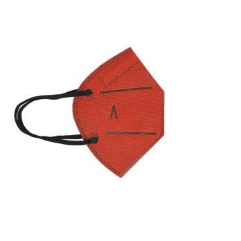 Pack 5 unidades Mascarilla 20 lavados roja para niños